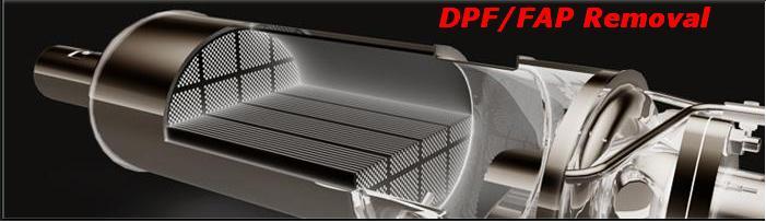 DPF / FAP serwis, wyłączenie, wycięcie